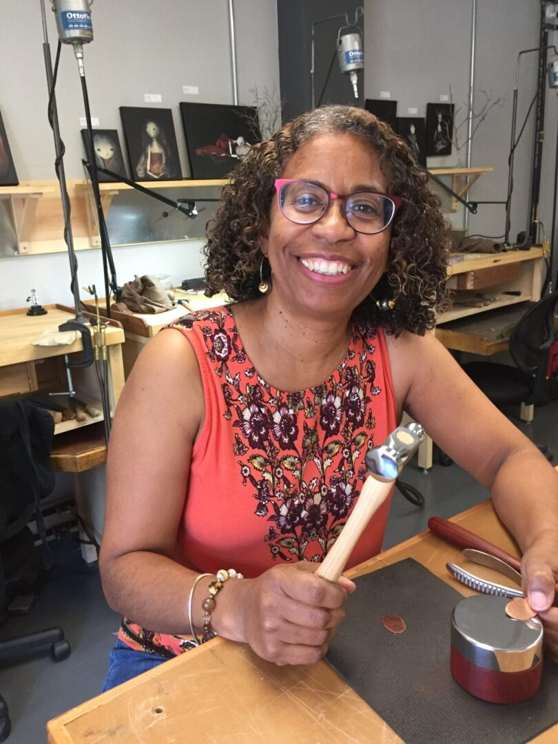 Amber Lidskin, instructor at MAA