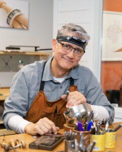 Jewelry Instructor, Michael R. Kosinski